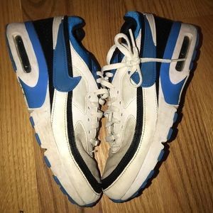 Nike Shoes - Nike Air Max Blue Black And White